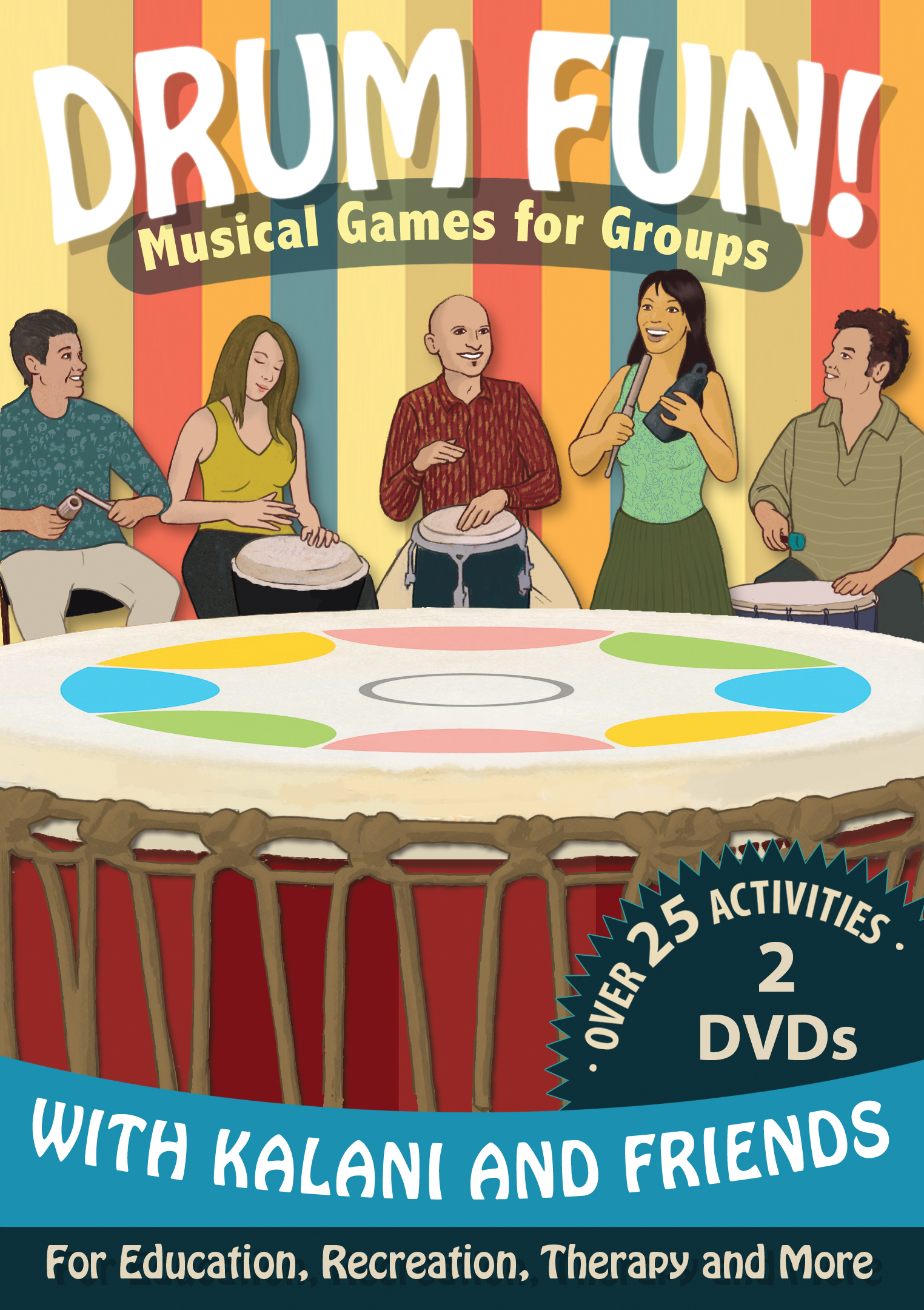 the drum fun dvd kalani music
