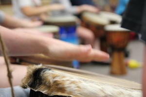 Group Drumming - Drum Circle - World Drumming